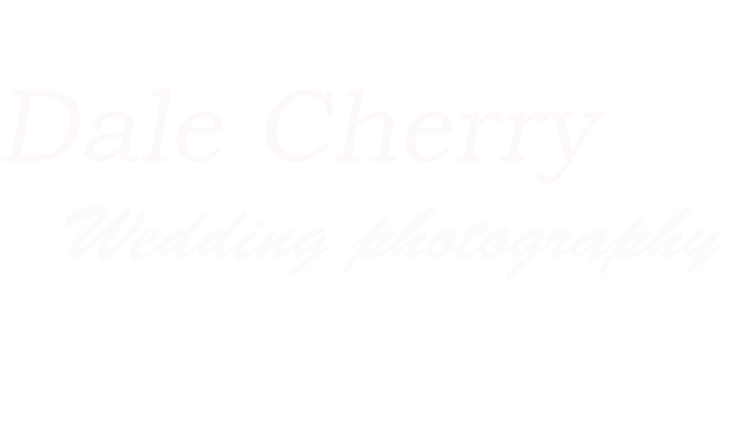 Dale Cherry wedding photography